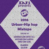 DJi KENYA - 2016 Urban-Hip Hop Mixtape [@DJiKenya] Cover Art
