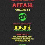 DJi KENYA - Reggae Affair Volume #1 Cover Art