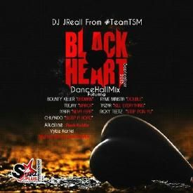 'BLACK HEART' Dancehall Mix September 24 2015