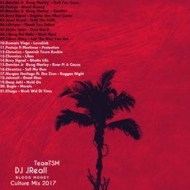DJ JReall From TrackStarMuzik [Blood Money Culture Mix 2017] Vol.1