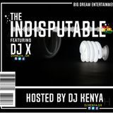 Dj KENYA MUZIK - The Indisputabe Mixtape Cover Art