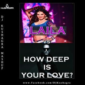 Laila Main Laila Vs How Deep Is Your Love ( Mashup ) DJ Kushagra .mp3