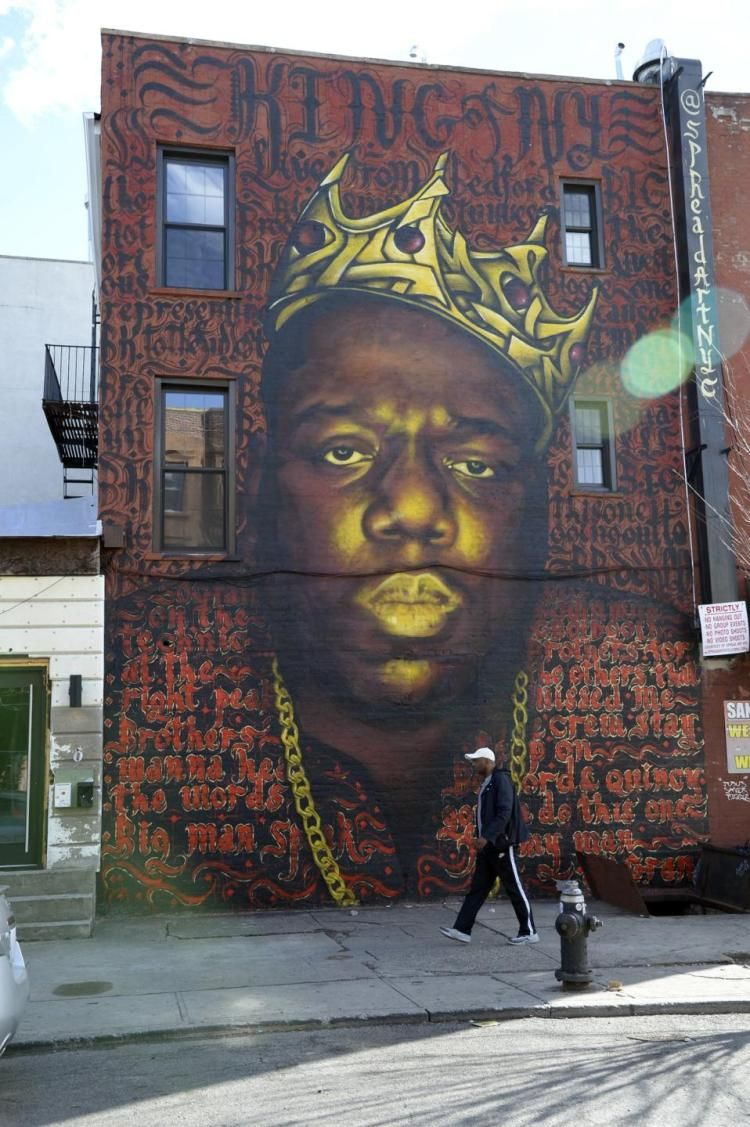 Dj mark xtreme 9 3 2017 20th anniversary notorious b i for Lil yachty mural