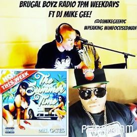 Brugal Boyz Crow Radio w Guest Mel Gates and Shadow