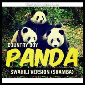 Country Boy - PANDA(Swahili Version SHAMBA) | DJ Mtes