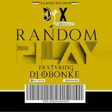 Dj Obonke - Random Play Mixtape Cover Art