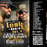 Dj Reddy Rock - Leak Radio 4 : Legends @ Limelight Edition Cover Art