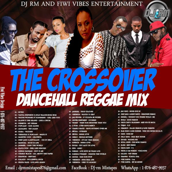 THE CROSSOVER DANCEHALL REGGAE MIX_JAN  2016 by DJ RM