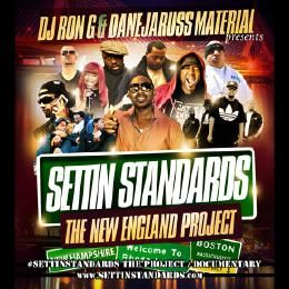 DJ RON G - SETTIN STANDARDS (THE NEW ENGLAND PROJECT) Cover Art