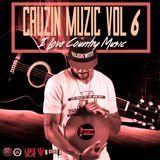 DJ Sik Wit It - Cruzin Muzic 6 (I Love Country Music) Cover Art
