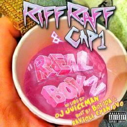 "DJ Skee - RiFF RAFF & Cap 1 ""Real Boyz"" ft. OJ Da Juiceman Prod. Boi1da & Ravioli Ryan OVO Cover Art"