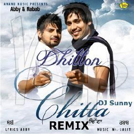 Chitta Refix Abby & Rabab And Dj Sunny- Dhol and Bass Mix- Latest Punjabi -