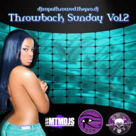 DJ SupaThrowed - Throwback Sunday Vol.2 Screwed & Chopped,Hosted By DJ SupaThrowed Cover Art