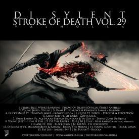 DJ Sylent - DJ Sylent Presents: Stroke Of Death Vol.29 Cover Art