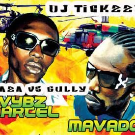 VYBZ KARTEL VS MOVADO OLD SKOOL WAR (GULLY VS GAZA)DJ @TICKZZYY