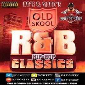 OLD SCHOOL R&B HIP HOP MIX 90'S 2000'S BY @Tickzzyy
