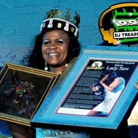 LADY SAW, THE QUEEN OF DANCEHALL MIXTAPE [MIXED BY DJ TREASURE]