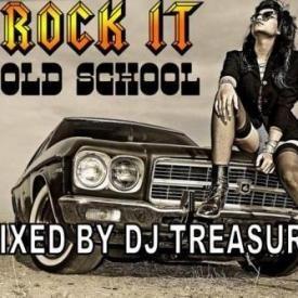 DJ Treasure Rock It Old School Mix [R & B and Rap] 2014