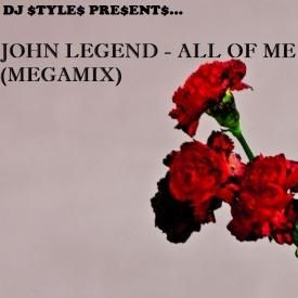 John Legend - All Of Me (Megamix)
