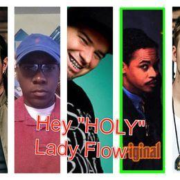 DJ X.O. The-Executive - HEY HOLY LADY FLOW Cover Art