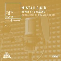 DJBooth - Heart of Oakland Freestyle Cover Art