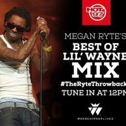 Megan Ryte - Best Of Lil Wayne (The Ryte Throwbacks On Hot 97) (1-5-16) Cover Art