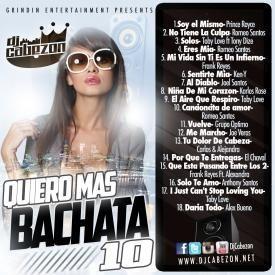 DJ CABEZON'S QUIERO MAS BACHATA 10-TRACK 2