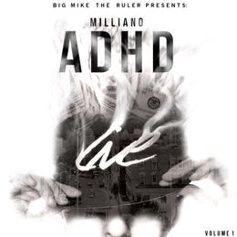 DJCHUCKT - ADHD (HOSTED BY DJ BIG MIKE) Cover Art