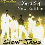 DJ Cotton Here @DJCottonHere - Best Of New Edition Slow Jams Cover Art