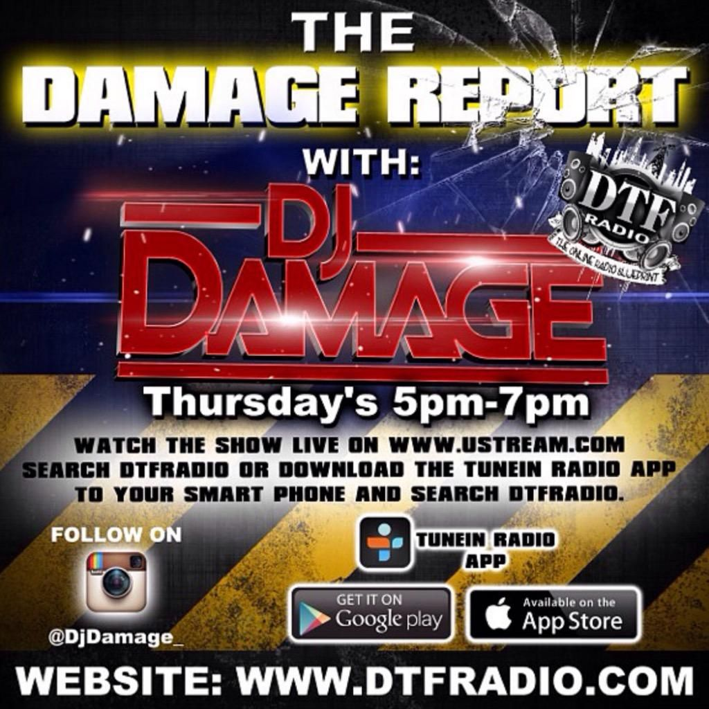 2015-1-8 THE DAMAGE REPORT WITH KRITIKAL & MANOLO ROSE by <Unknown