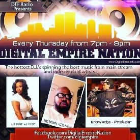 DigItal Empire Nation With Dj Damage 3-31-2016