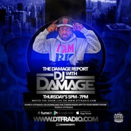 DJDamage - The Damage Report New Year 2017 Show Cover Art