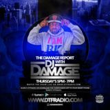 DJDamage - The Damage Report With Continental T Cover Art