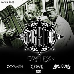 DJDES - Locksmith, Owe, Caligula Timeless Tribute R.I.P. GURU RMX Cover Art