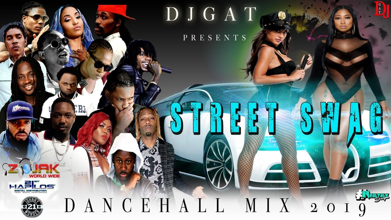 DANCEHALL MIX CLEAN STREET SWAG APRIL 2019 by djgat from djgat