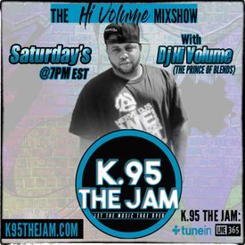 The Hi Volume Mixshsow on K.95TheJam 8-18-18