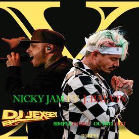 Nicky Jam Ft. J. Balvin - X (DJ Jexsey Simple Intro - Outro Edit)95BPM