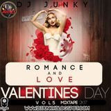 DJJUNKY - DJJUNKY - ROMANCE AND LOVE  (VALENTINES DAY) VOL.5 MIXTAPE 2K17 Cover Art