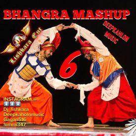 BHANGRA MASHUP 6 DHOLMIX DJ LISHKARA -FT- DEEPKAHLON MUSIC