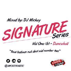 Signature Series Vol 1(b) - Dancehall