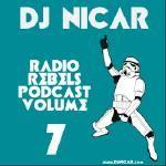 DJ Nicar - Radio Rebels Podcast v7 (Open Format Mix) Cover Art