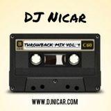 DJ Nicar - Throwback Mix vol. 4 Cover Art