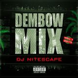djnitescape - Dembow Mix Vol 1 2K17 Cover Art
