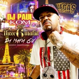 DJ Paul KOM - Vegas Nights Cover Art