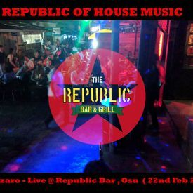 Afro House Mix ( Live @ Republic Bar n Grill)