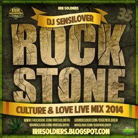 ROCKSTONE CultureLoveMix #35 DJSENSILOVER Sept2014