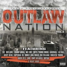 DJ Sin City - Young Noble Presents Outlaw Nation Vol.4 Cover Art