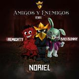 DjTempo - Amigos Y Enemigos (Official Remix) Cover Art