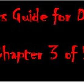 Trappers Guide For Dummies (Chapter 3)