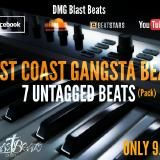 DMG Blast Beats - West Coast Gangsta Beats Pack 1 Cover Art